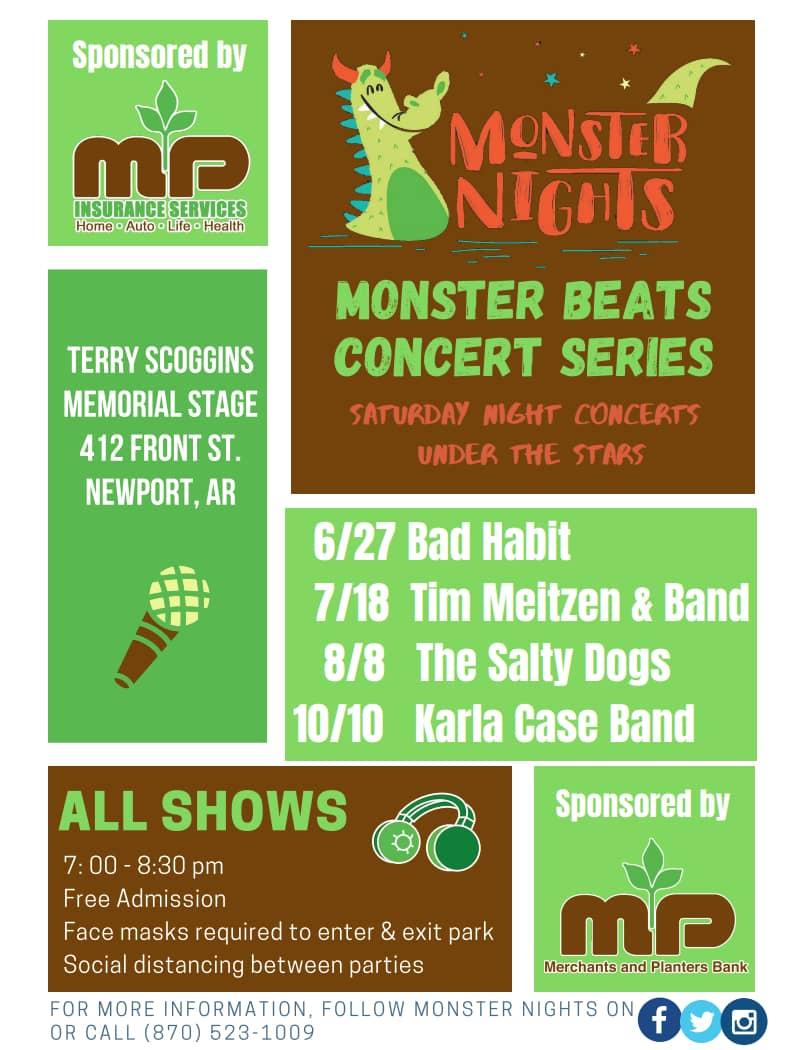 Monster Nights Poster