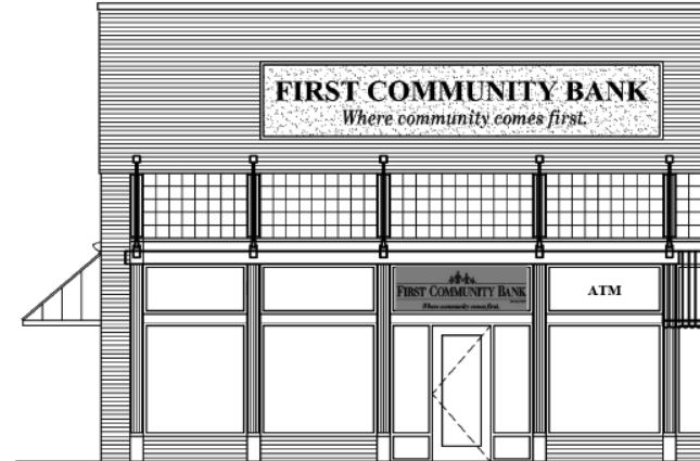 First Community Platter Inn mock up