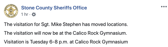 Stone County Facebook Post Stephen