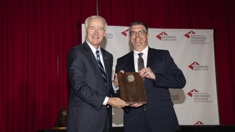 WRHS receives Governor's Quality Award