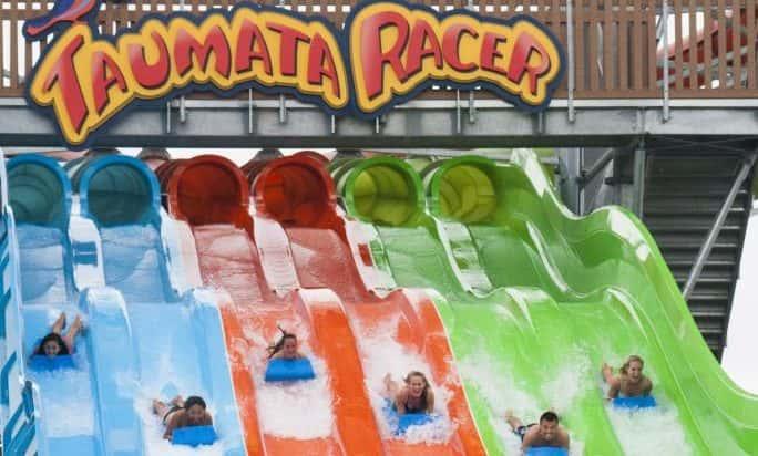 taumata racer at Seaworld Aquatica