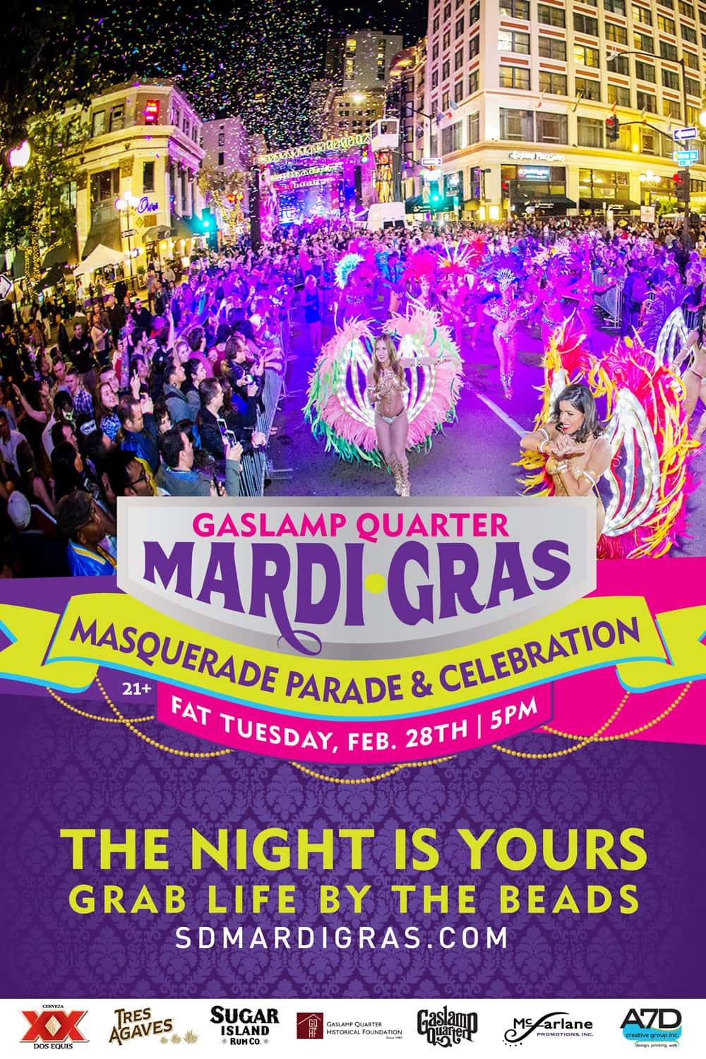 Mardi Gras 2017 With The Mighty 1090 Mighty1090am