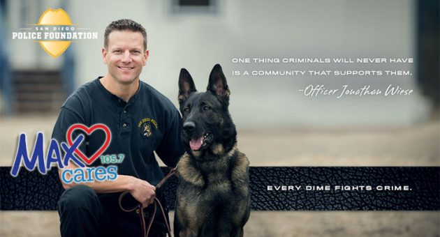 Max Cares - San Diego Police Foundation