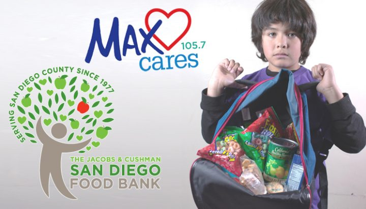 Max Cares: San Diego Food Bank