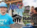 Max Cares: San Diego Habitat For Humanity