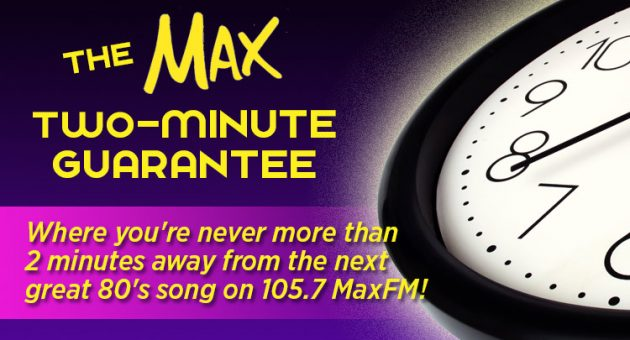 Max 2-Minute Guarantee