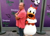 JJ at Disneyland Halloween Time