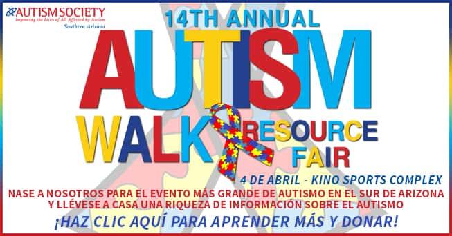 14 Annual Autism Walk & Resource Fair