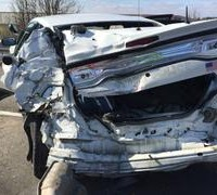 state police cruiser hit by semi on feb 3 2016 2
