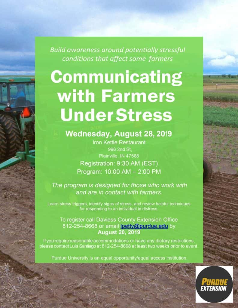 Communicating with Farmers Under Stress | Classic Hit