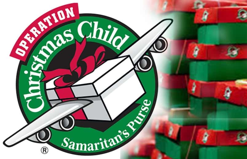 Christmas Child Boxes.Operation Christmas Child Turns A Shoe Box Into Something