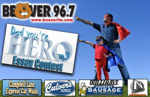 dad you re my hero essay contest beaver fm  submit your dad you re my hero essay by 8 59am on 14 then we ll have a voting period to determine the winning essay here s what our winner will get