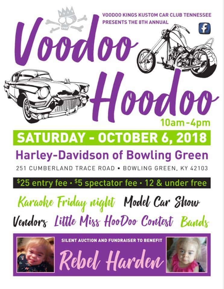 Voodoo Hoodoo VIII Beaver FM - Bowling green ky car show 2018