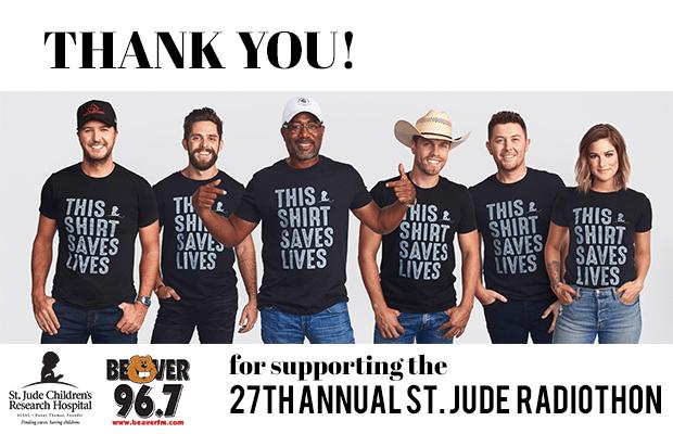 St Jude Radiothon 2019 Thank You
