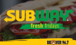 Subway Fresh Friday Giveaway