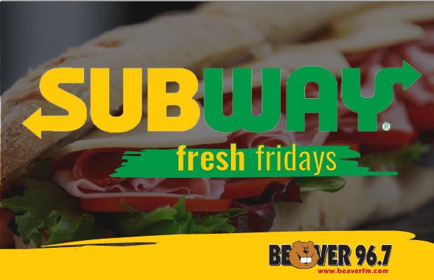 Subway Fresh Fridays
