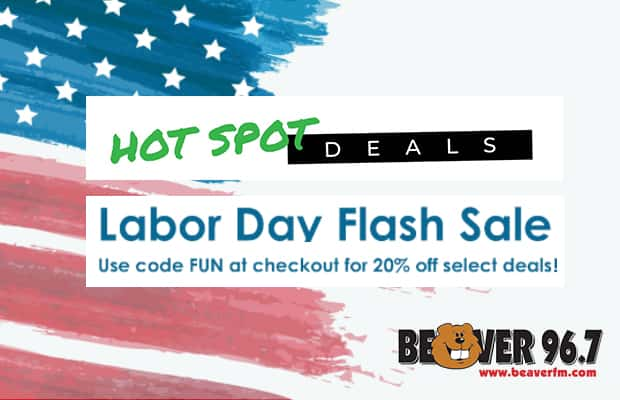 Hot Spot Deals Labor Day Flash Sale