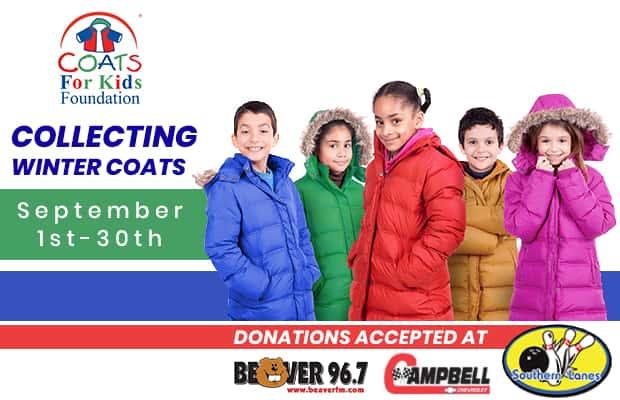 Community Initiative: Coats for Kids