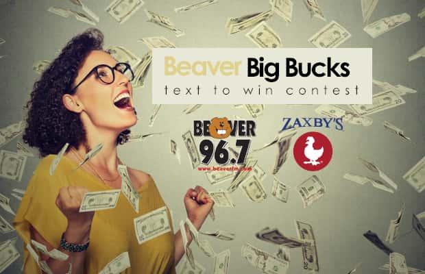 Beaver Big Bucks Text to Win Contest