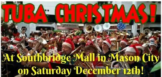 Tuba Christmas.Tuba Christmas At Southbridge Mall Alpha Media Mason City