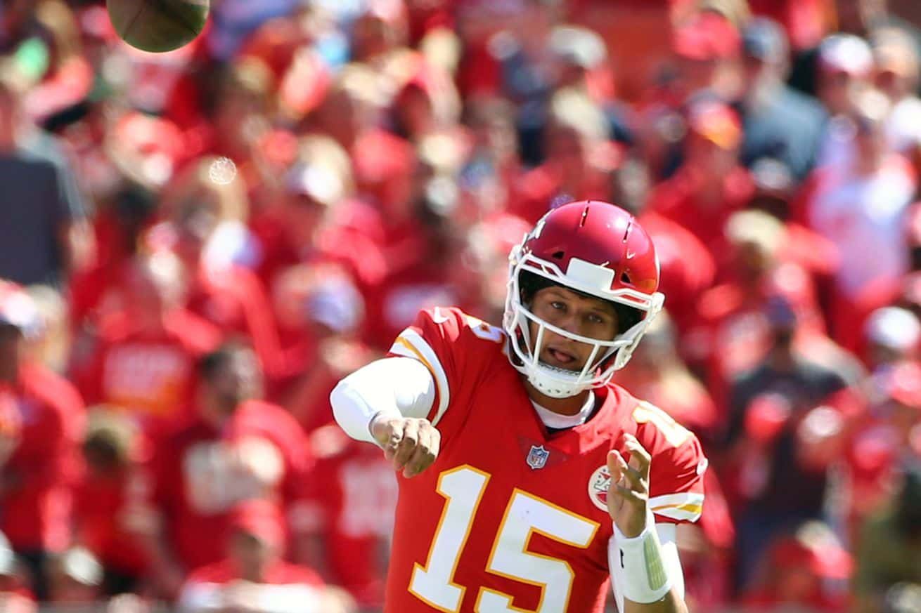 26dab061335 Part one of Mahomes' film review for his game against the San Francisco  49ers.