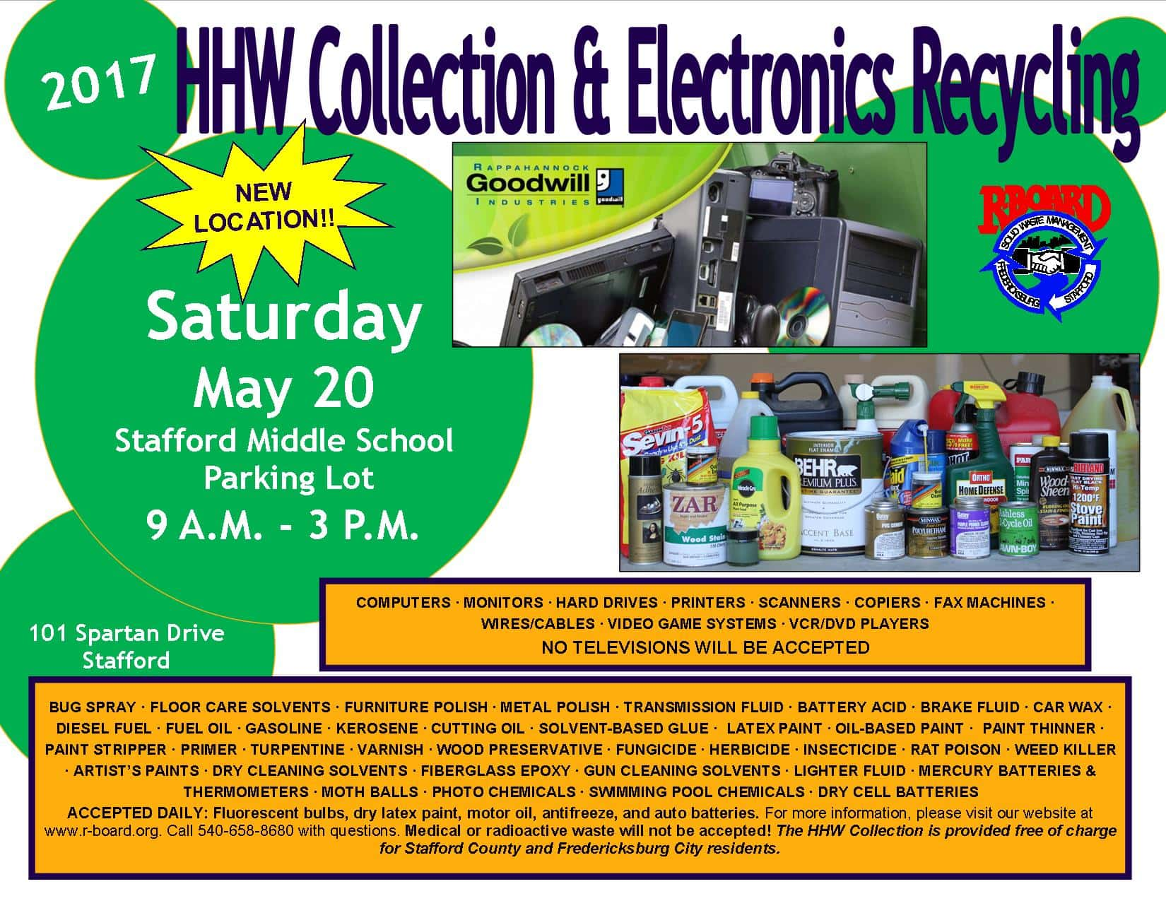 hhw collection electronics recycling day b101 5 all of today s