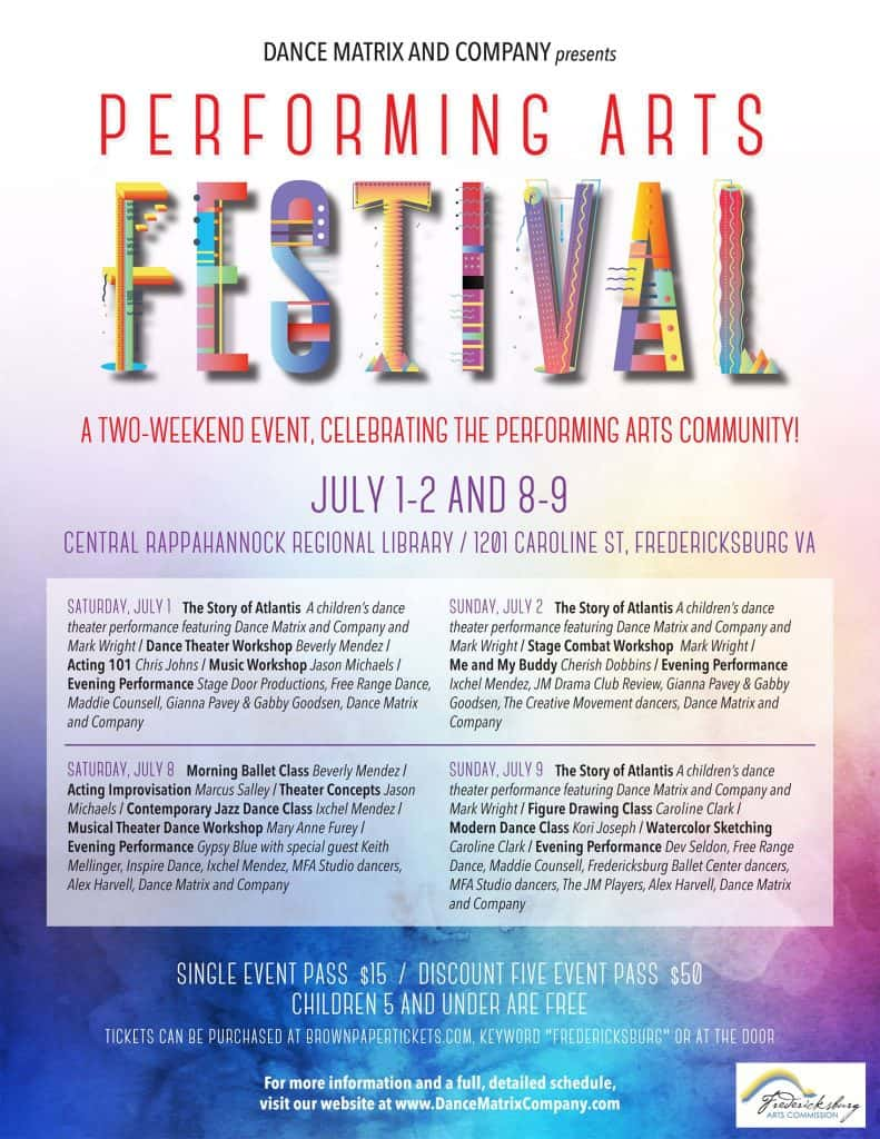 All events for Fredericksburg Performing Arts Festival   B101 5