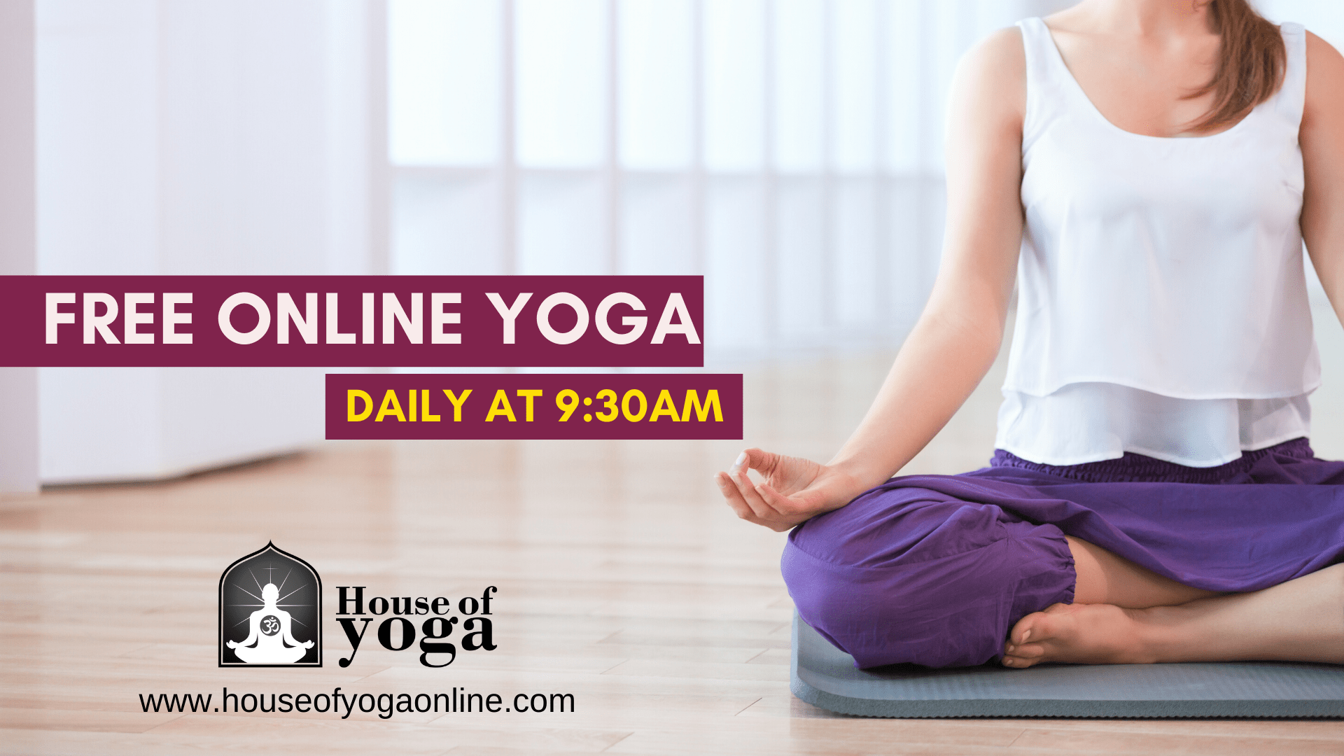 Free Daily Online Yoga Session B101 5 Today S Best Music