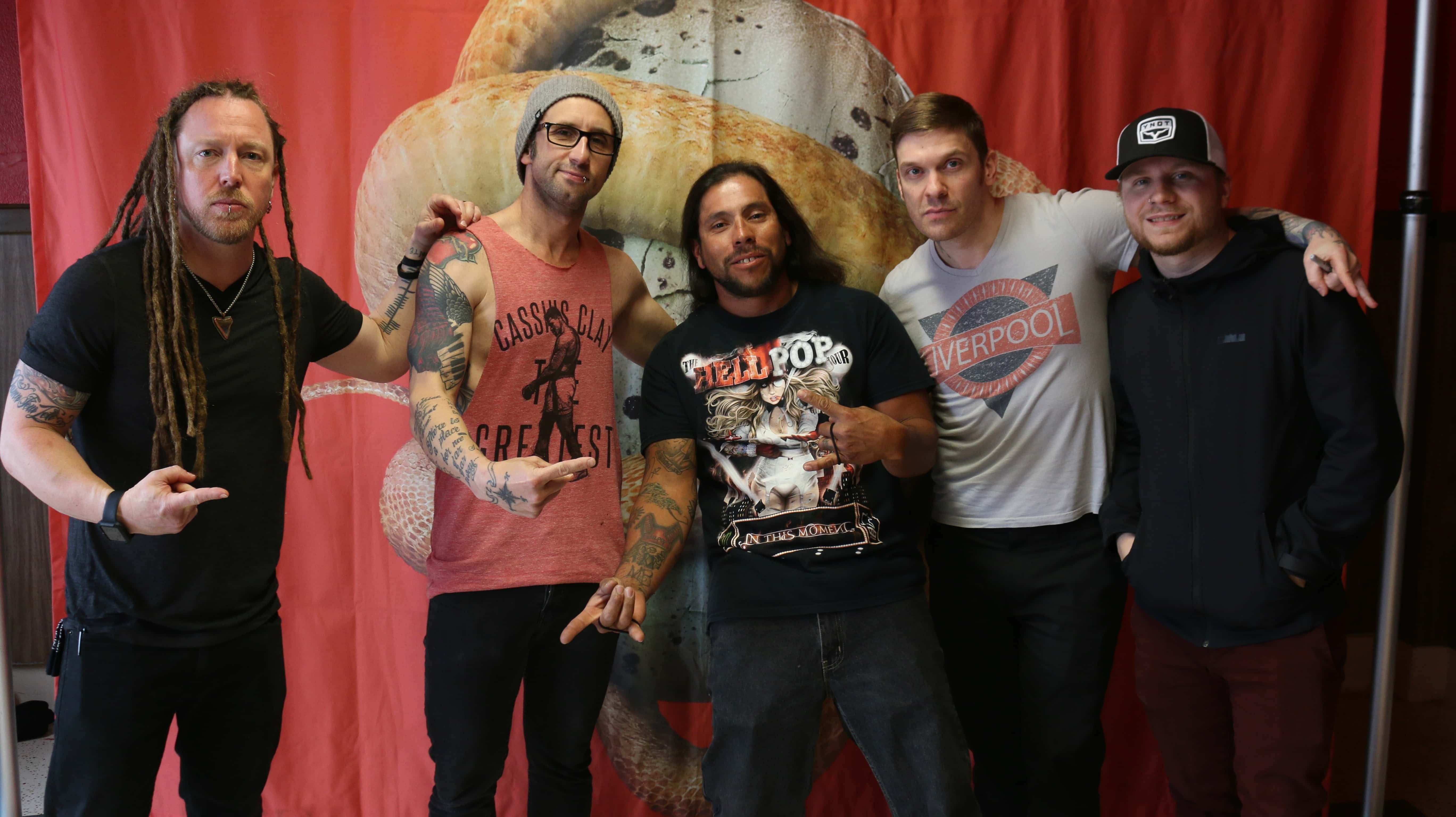 Shinedown Meet And Greet Q102 Springfields Rock Station