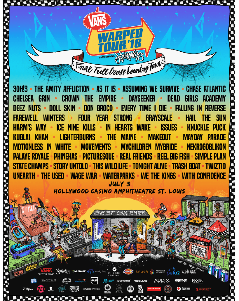 64bcd3383325 Win tickets to Vans Warped Tour!