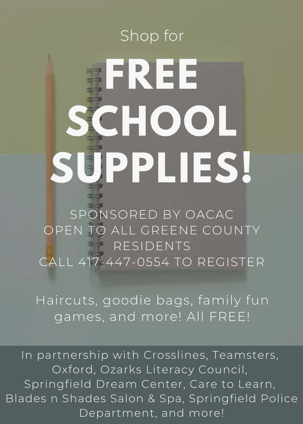 Free School Supplies | Q102 Springfield's Rock Station