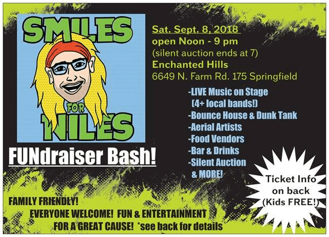 Smiles for Niles Fundraiser! | Q102 Springfield's Rock Station