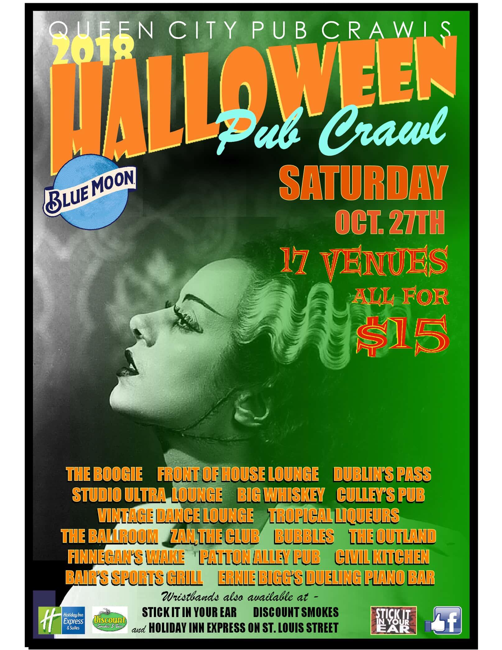 Springfield Mo Halloween Pub Crawl 2020 HALLOWEEN PUB CRAWL! | Q102 Springfield's Rock Station
