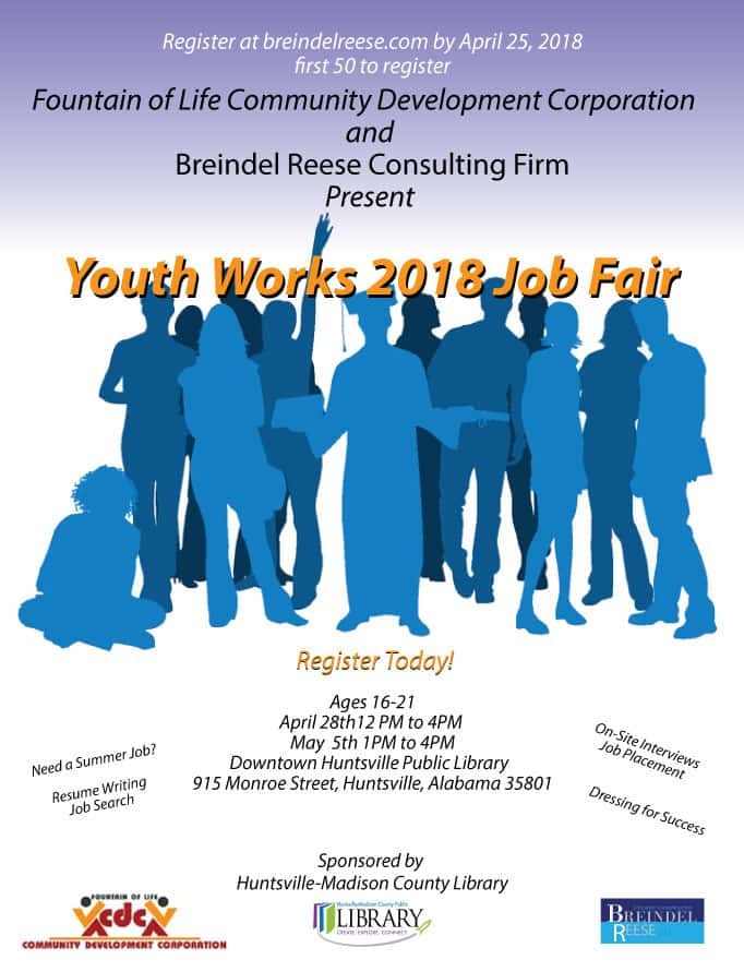 Youth Works 2018 Job Fair Mix 969