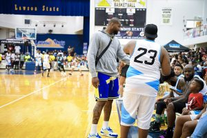 Eric Bledsoe and 95.7 Jamz Celebrity Basketball Game- Summitmedia Summit Media