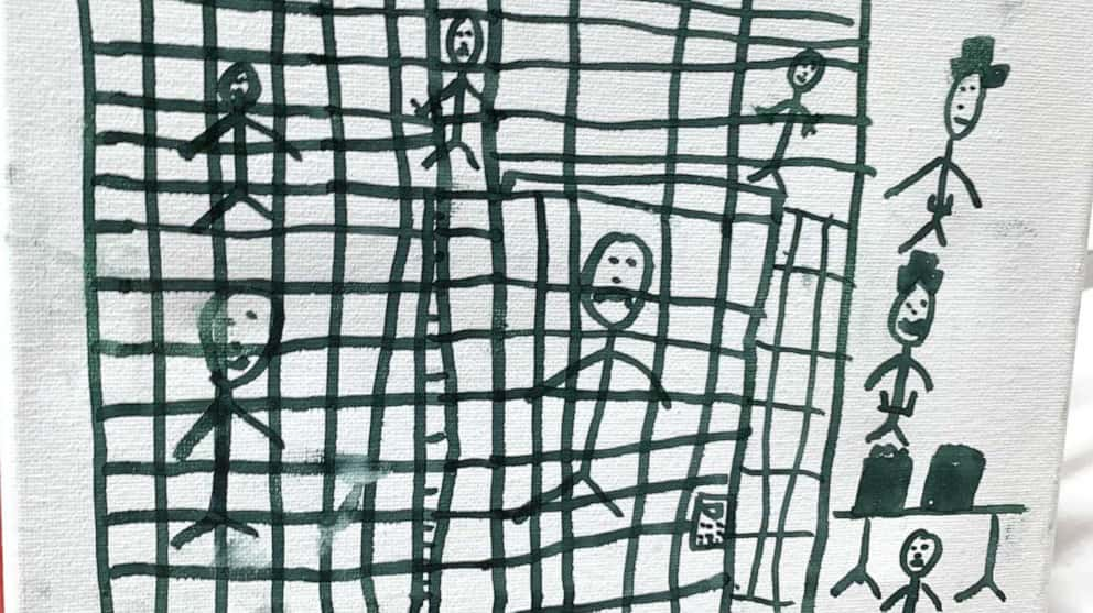 3 migrant children draw alarming images of life in Border