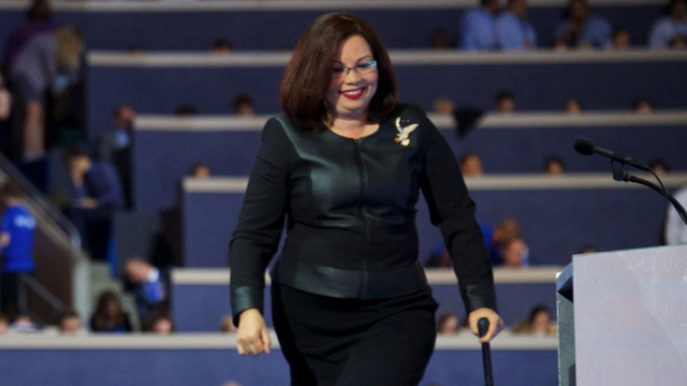senator duckworth face book video vetrans