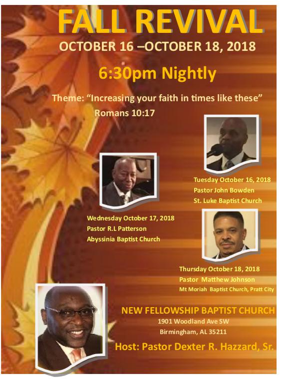 New Fellowship Baptist Church | WAGG | 610 WAGG