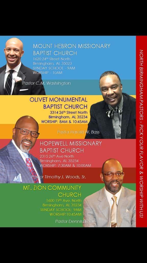 North Birmingham Pastors | WAGG | 610 WAGG