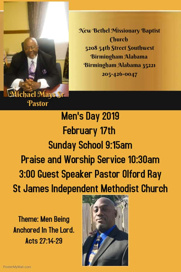 New Bethel Missionary Baptist Church | WAGG | 610 WAGG