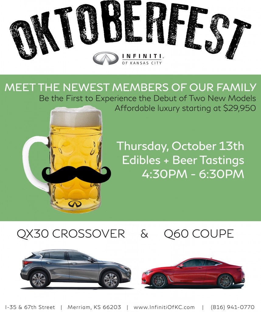 Infiniti Of Kansas City >> Oktoberfest At Infiniti Of Kansas City Kc 102 1
