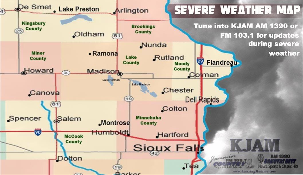 Severe-Weather-Map | KJAM