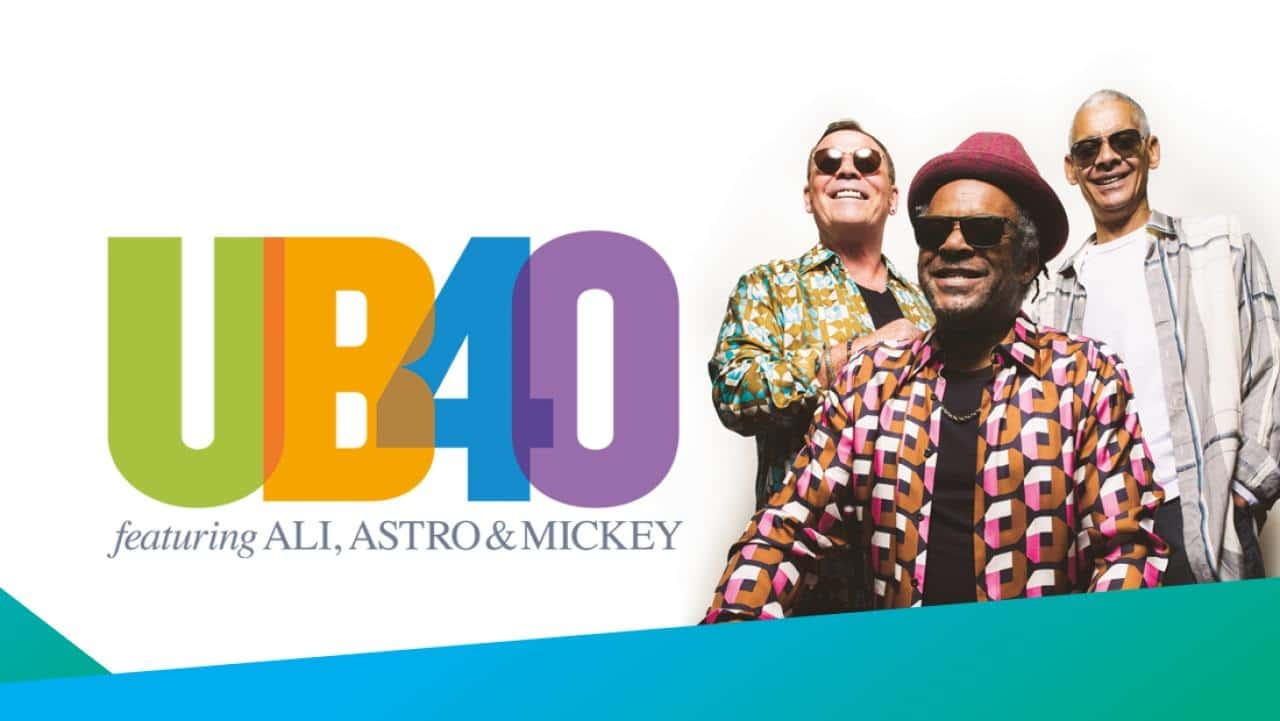 """UB40 feat  Ali, Astro, & Mickey """"A Real Labour of Love"""