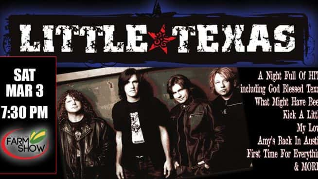 Win 2 tickets and meet and greets to little texas explore win 2 tickets and meet and greets to little texas m4hsunfo