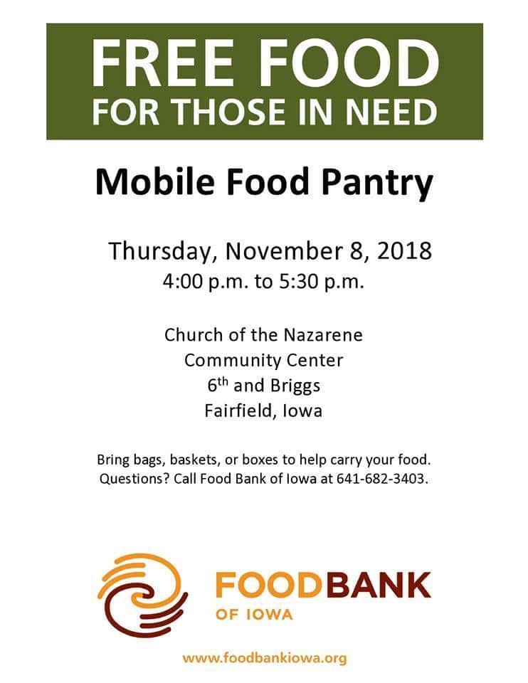 nov-food-pantry | Explore Southeast Iowa Fairfield