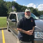 Veteran Bill Freas: Bill Freas of Palmyra, wounded combat vet advocated for this additional parking space at FLCC for Veterans.