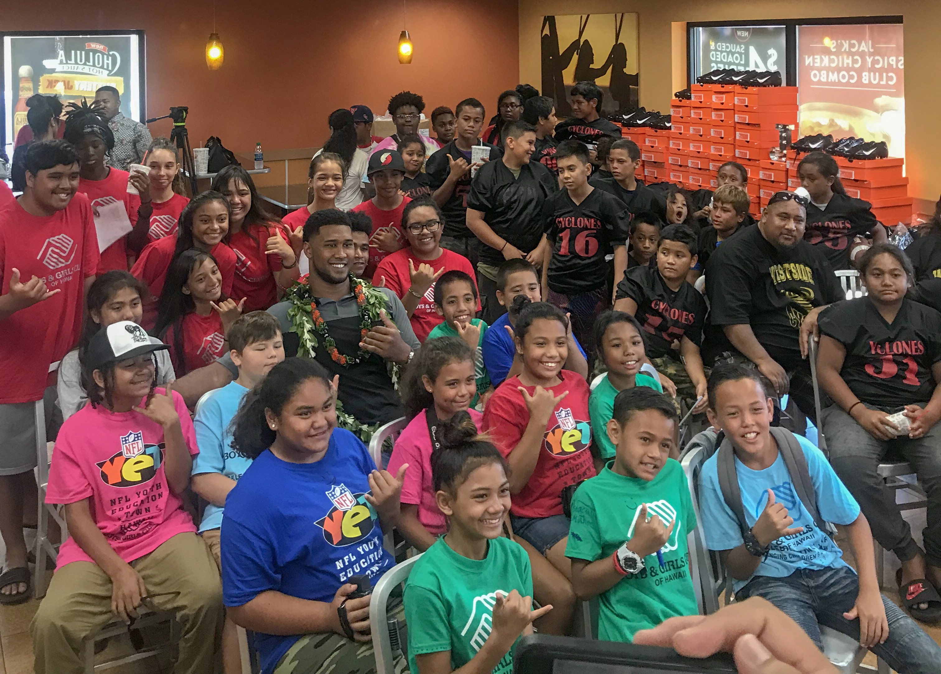 Private Meet And Greet With Deforest Buckner At The Waianae Jack In