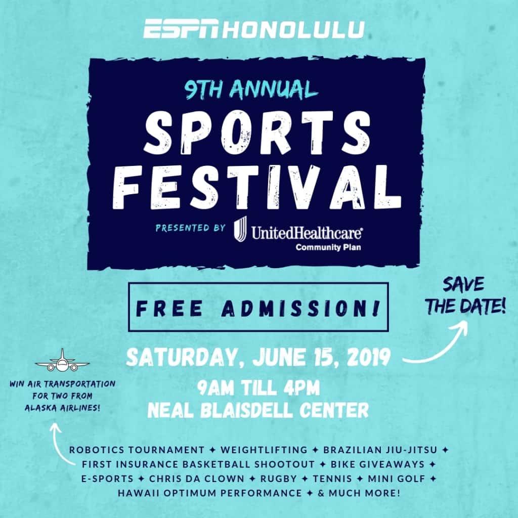 Espn Honolulu 9th Annual Sports Festival Power 104 3