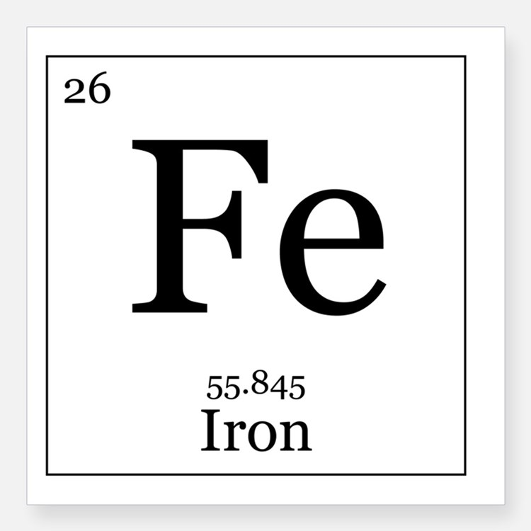 Iron Symbol Mymoinfo