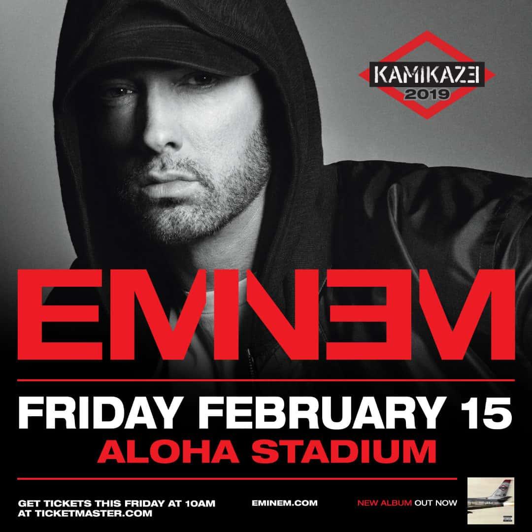 Eminem @ Aloha Stadium | KWXX